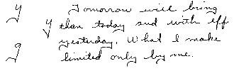 handwriting analysis trait dictionary